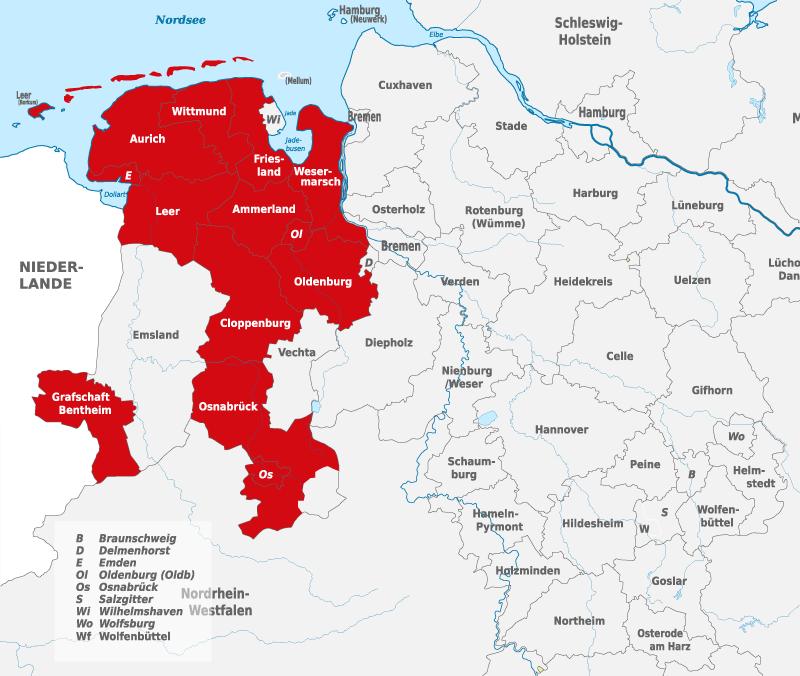 Weser-Ems singler